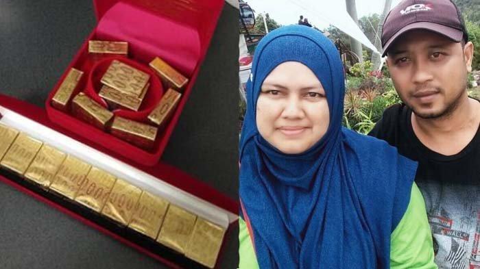 Dihadiahi Emas Batangan oleh Suami, Istri yang Sempat Histeris Langsung Syok Lihat Isinya