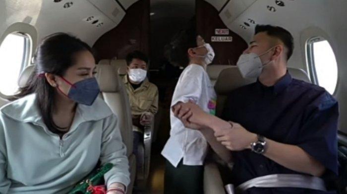 Dijemput Crazy Rich, Raffi Ahmad janji beliikan Rafathar jet pribadi, ini kata Nagita