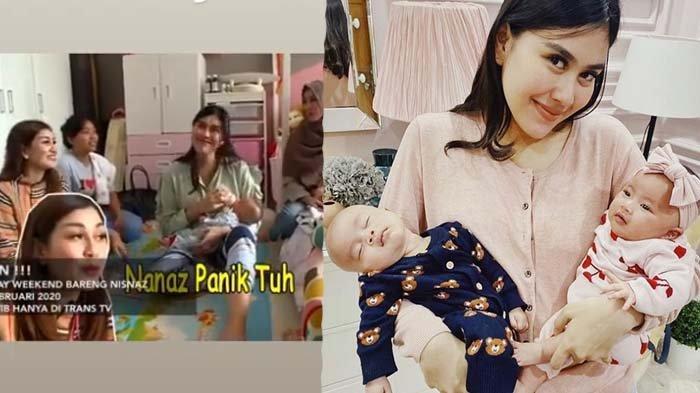 Dikenal Manja, Perlakuan Syahnaz pada Bayi Kembarnya Dibongkar Pengasuh, Nisya: Daripada Gak Gajian