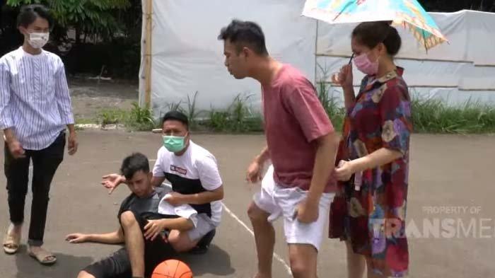 Raffi Ahmad Cemburu Lihat Nagita Perhatian ke Dimas saat Main Basket, Merry Jadi Sasaran Kekesalan