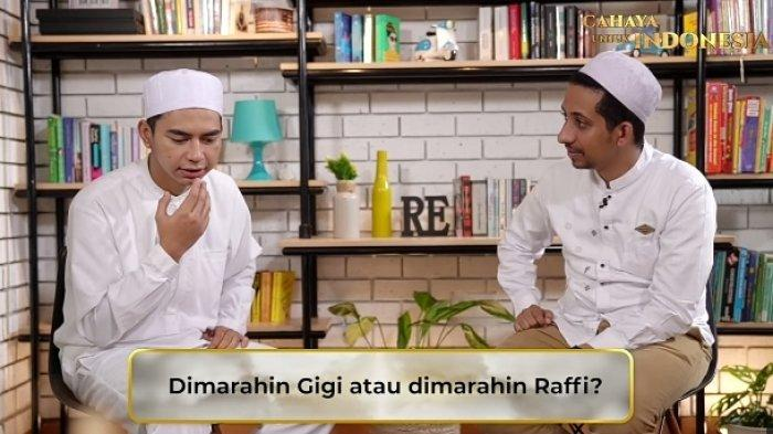 Pilih Dimarahi Nagita, Dimas Ungkap Sikap Raffi Ahmad yang Bikin Takut, Habib Husein Melongo : Oouw!