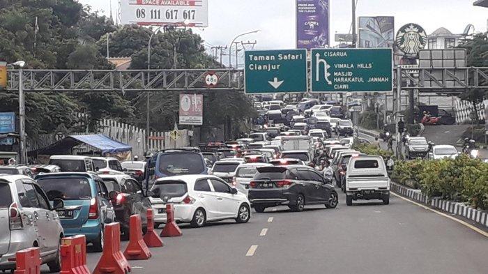 Siap-siap, Jalur Puncak Akan Ditutup dari Arah Cianjur dan Bogor pada Malam Tahun Baru