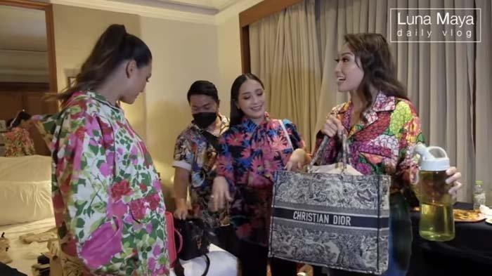 Pamer Tas Puluhan Juta, Kelakuan Nagita Simpan Benda Ini Bikin Luna Maya dan Ayu Dewi Bengong