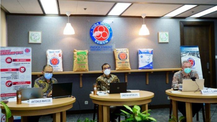 Gelar Bukber Virtual, Indocement Bagikan 2000 Paket Sembako untuk Warga Bogor