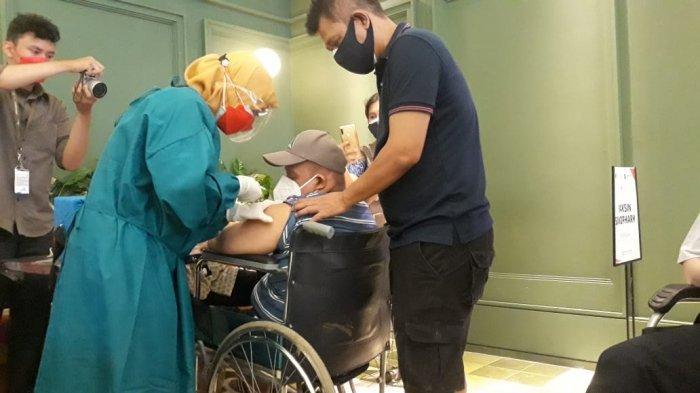 400 Disabilitas Ikut Vaksinasi Massal di Kanama Resto Bogor, Pulang Bawa Bingkisan