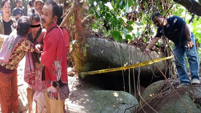 Begini Kondisi Celah Batu Tempat Hasni Disekap Dukun 15 Tahun, Ada Gundukan Tanah Mirip Kuburan