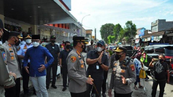 Khawatir Membludak Jelang Lebaran, Satgas Covid-19 Kota Bogor Kunjungi Pasar Kebon Kembang