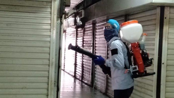Seorang Pedagang Positif Covid-19, Pasar Bogor Disterilisasi