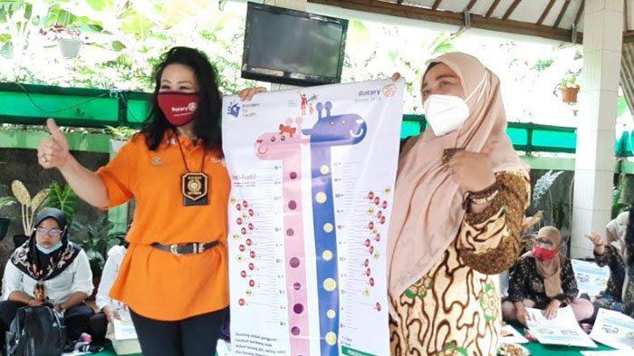 Sambangi Parung Bogor, Rotary International Berikan Pemahaman Stunting kepada Warga