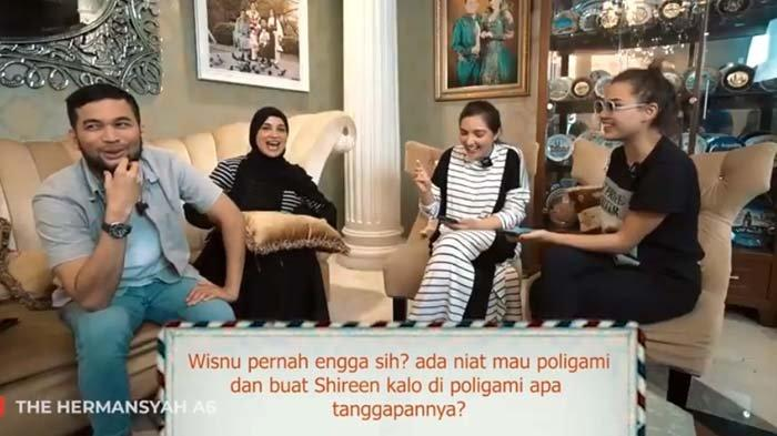 Ditanya soal Poligami, Shireen Sungkar 'Ancam' Teuku Wisnu, Singgung Istri Nabi: Jangan Macam-macam!
