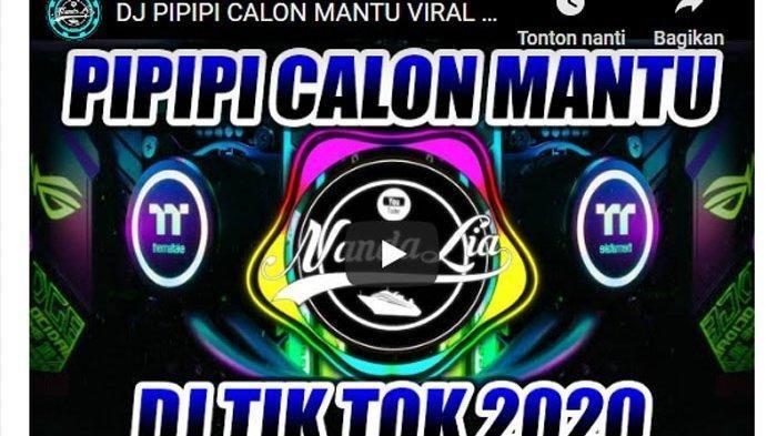 Download Lagu Dj Pipipi - Calon Mantu MP3 Viral Tiktok 2020