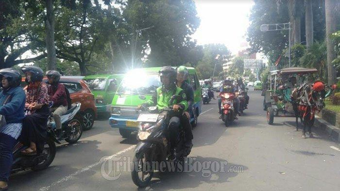 INFO LALU LINTAS : Jalan IR H Djuanda Kota Bogor Saat Ini Ramai Lancar