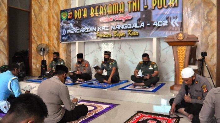 TNI-Polri di Kota Bogor Doa Bersama untuk KRI Nanggala 402