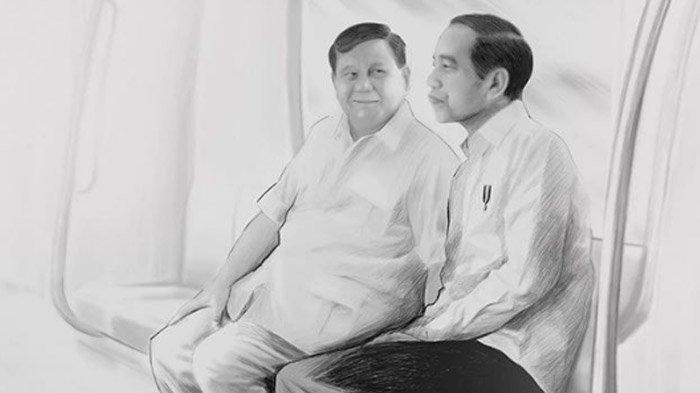 Sambut Tahun Baru 2020, Prabowo Posting Foto Berdua Jokowi: Jangan Terjadi Perpecahan di Antara Kita