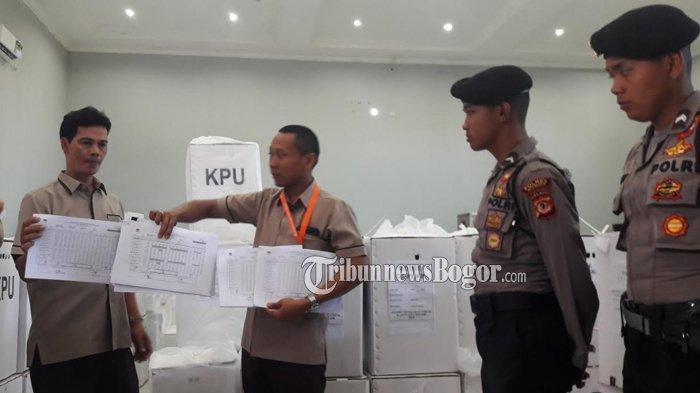 KPUD Kabupaten Bogor Kirim 6 Dokumen Hasil Pilpres ke Jakarta