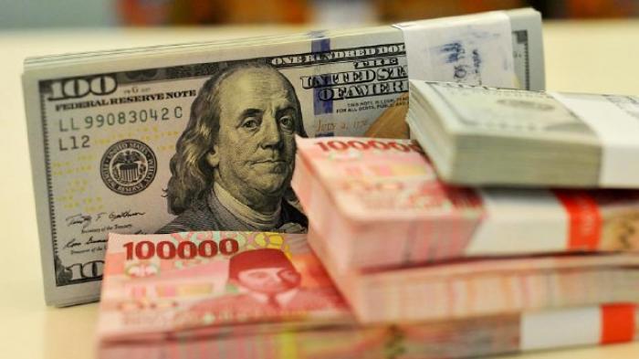 Rabu Sore, Rupiah Ditutup Pada Level Rp 14.718 Per Dolar AS