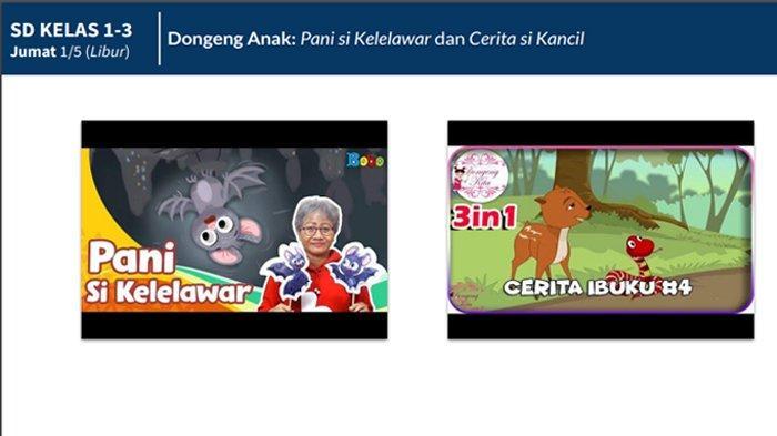 Film Animasi Sahabat Pemberani, Belajar dari Rumah SD Kelas 4-6 di TVRI Jumat 1 Mei 2020