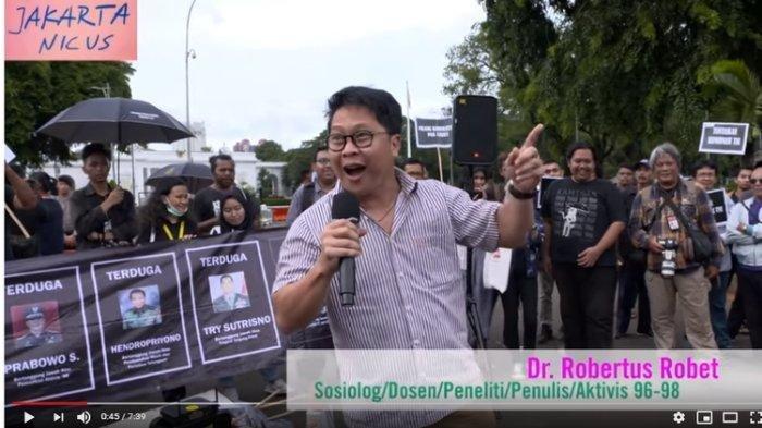 Fakta Dosen UNJ Robertus Robet Ditangkap Polisi karena Diduga Langgar UU ITE, Kini Jadi Tersangka