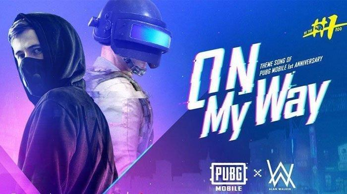 Download Lagu Mp3 Alan Walker (OST) PUBG Mobile - Lirik Lagu On My Way