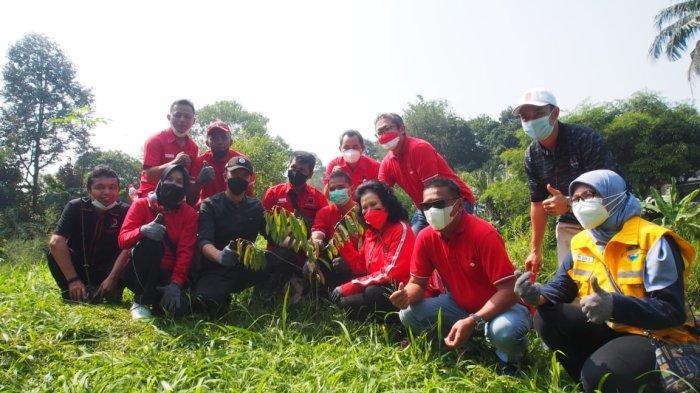 Menyambut hari jadi Partai PDIP yang ke-48 pada 1 Januari 2021 silam, DPC PDIP Kota Bogor melaksanakan program Cinta Sungai Ciliwung.