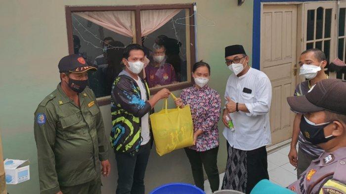 Bantu Warga yang Jalani Isolasi Mandiri, DPRD Kabupaten Bogor Kirim Paket Sembako