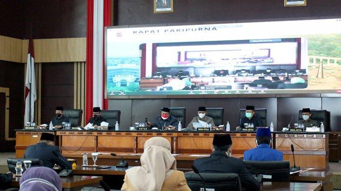 Sidang Ketiga Tahun 2021, DPRD Kota Bogor Tetapkan 3 Raperda Jadi Perda