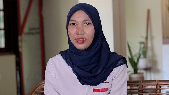 dr Naftalena Dwi Putri, dari Unit Donor Darah PMI Kota Bogor