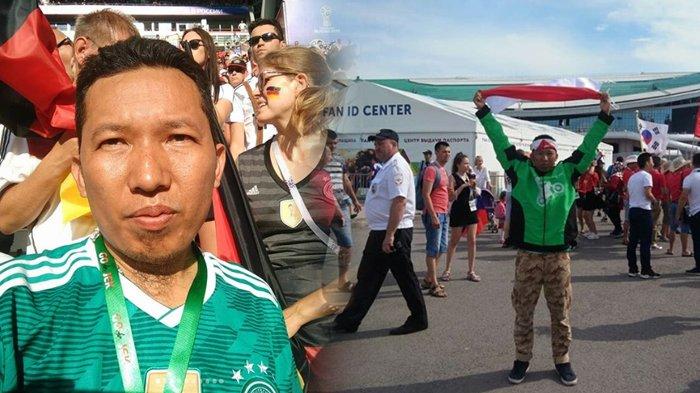 Driver Gojek Ini Nabung Rp 1 Juta Sebulan Demi Nonton Langsung Piala Dunia 2018, Susah Ketemu Nasi