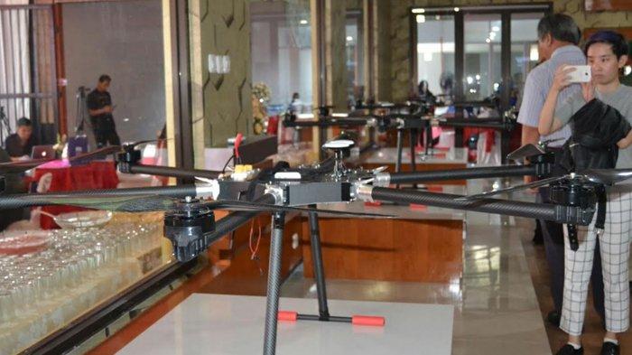 Drone Hasil Produksi PT Famindo Inovasi Teknologi Terakreditasi Berstandar Internasional
