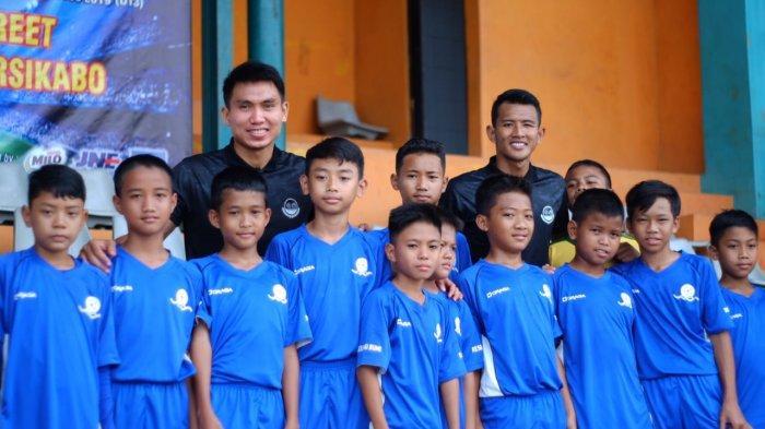 Dua Pemain PS Tira Persikabo Datang ke Festival Anniversary SSB Kabomania Tira Persikabo Cup 2019