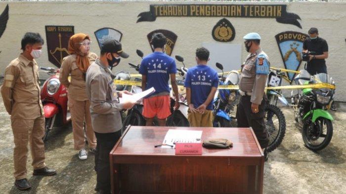 Mengaku Masih Anak-Anak untuk Kelabui Polisi, Pelaku Curanmor di Bogor Ini Juga Sikat Motor Tentara
