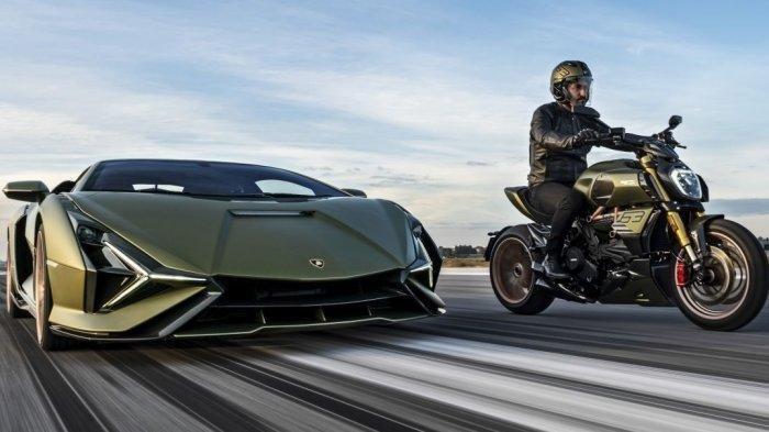 Dibuat Hanya 630 Unit, Ini Tampang Sangar Ducati Diavel 1260 Lamborghini