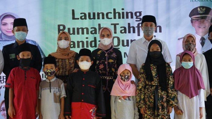 Wakil Wali Kota Bogor Dedie dan Istri Menteri Investasi Resmikan Rumah Tahfidz Hanida