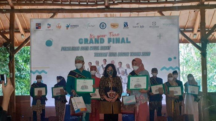 Grand Final Pemilihan Duta Muda Kesehatan Kota Bogor Tahun 2020, Peserta Lakukan Protokol Kesehatan