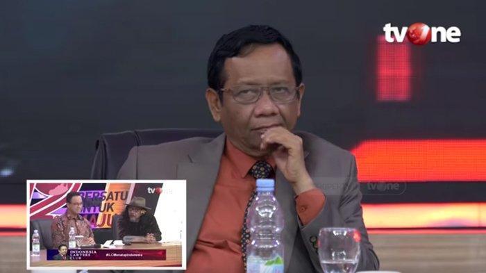Ekspresinya saat Dengar Aa Gym Bicara di ILC Dikomen, Sudjiwo Tedjo Singgung Reaksi Mahfud MD: Suwun