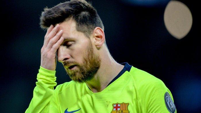 Real Madrid Rebut Juara Liga Spanyol dari Barcelona, Messi Frustasi: Kalau Begini Terus, Sudahlah