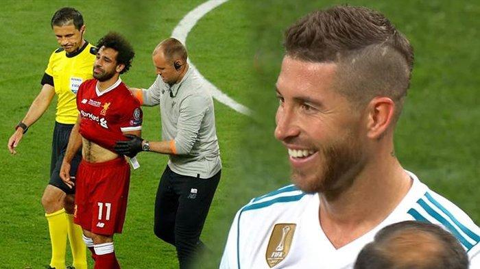 Mo Salah Anggap Pernyataan Sergio Ramos Tidak Masuk Akal