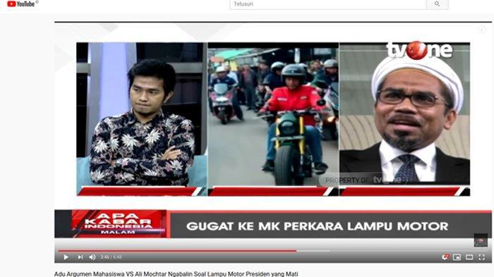 Jokowi Tak Ditilang saat Lampu Motor Mati Disorot Mahasiswa UKI, Ali Ngabalin Singgung Privilege