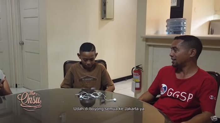 Kesal Baru Diajak ke Jakarta, Adik Betrand Peto Sindir Ayah, Tim Ruben Onsu Kaget : Marah Ya?