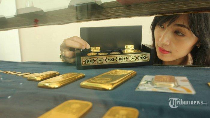 Harga Emas Antam Hari Ini Turun Rp 4.000