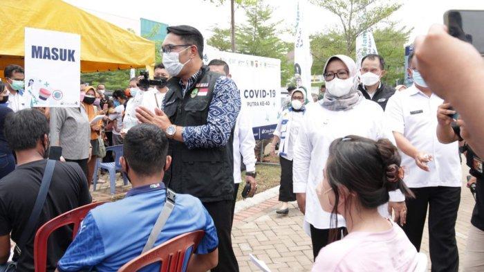 40 Persen Warga Jonggol Bogor Sudah Divaksin, Ade Yasin : Melesat dari Wilayah Lain