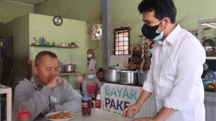 Makan Siang di Warteg, Emil Dardak : Ternyata Sangat Cukup Makan dalam Waktu 20 Menit