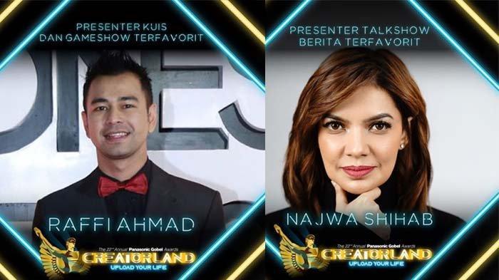 Lengkap Daftar Pemenang Panasonic Gobel Awards 2019 - Raffi Ahmad hingga Najwa Shihab Raih Piala