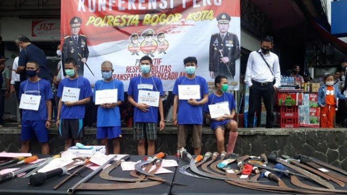 Geng Motor Ditangkap, Kapolresta Bogor Kota Pastikan Pelaku Kekerasan Akan Ditindak Tegas