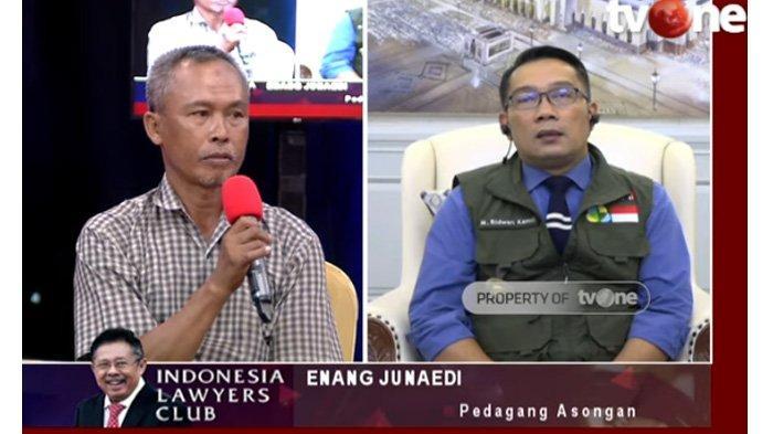 Pedagang Curhat Tak Bisa Mudik, Ridwan Kamil Tenangkan : Bapak Akan Dijamin Pak Jokowi dan Pak Anies