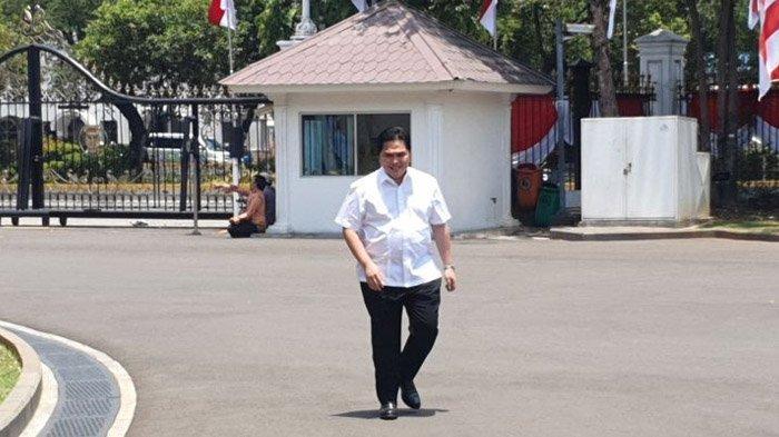 Dipanggil Jokowi, Erick Thohir Bersedia Jadi Menteri Meski Berat Tinggalkan Bisnisnya