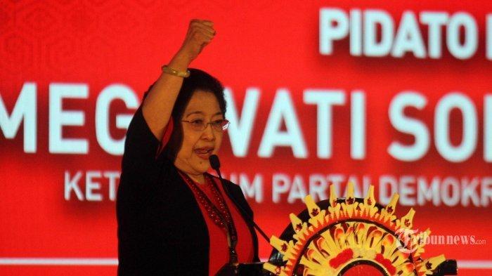 Secara Aklamasi Megawati Kembali Jadi Ketua Umum PDIP