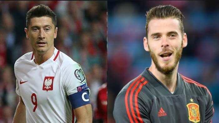 Jadwal Euro 2020 Grup E : Spanyol Tanpa Pemain Real Madrid, De Gea Siap Lawan Lewandowski