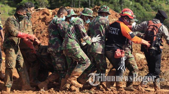 Tim Hentikan Evakuasi Korban Longsor Sukabumi, Satu Korban Belum Ditemukan dan Keluarga Sudah Ikhlas