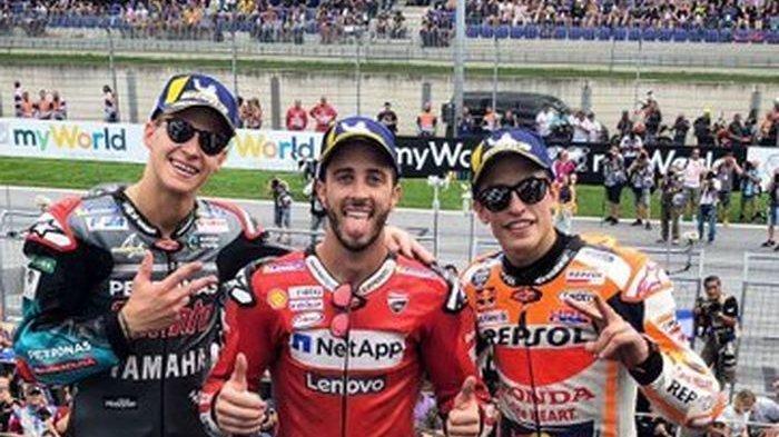 Update Klasemen MotoGP - Marquez Kokoh di Puncak, Rossi Geser Vinales